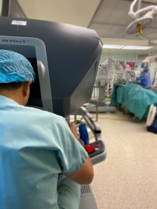 Our expertise : robotic surgery
